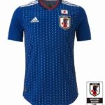 2018年ワールドカップ 日本代表新ユニフォーム
