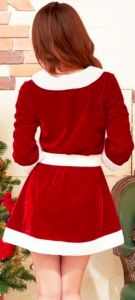クリスマスコスチューム サンタコスプレ