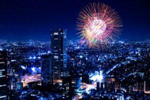 東京の花火